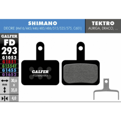 Pastillas Freno Galfer Standard Shimano Deore