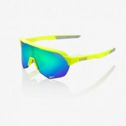 Gafas 100% S2 - Fluor Lentes Verdes