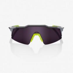 Gafas 100% Speedcraft Gris Lente Morada